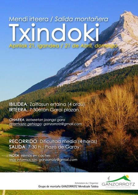 Txindoki, 2013-04-21